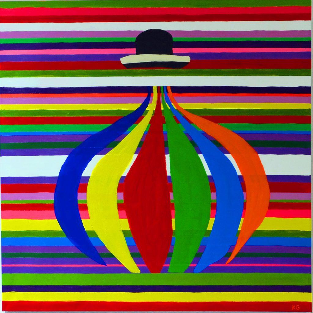 Arte contemporáneo Valencia Karlo Grados España artista galería óleo Lima Perú inca 3