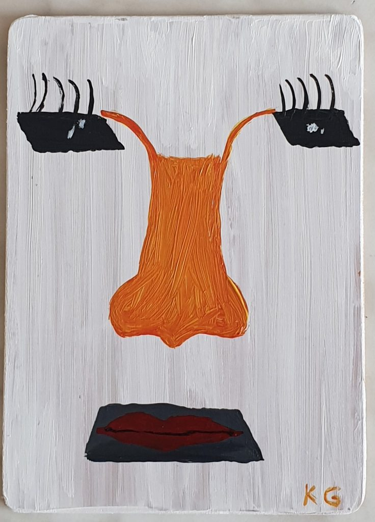 Arte contemporáneo Valencia Karlo Grados España artista galería óleo abstracto Madrid15