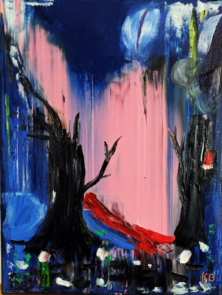Arte contemporáneo Valencia Karlo Grados España artista galería óleo abstracto Madrid16