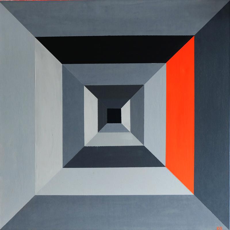 Arte contemporáneo Valencia Karlo Grados España artista galería óleo abstracto Madrid6