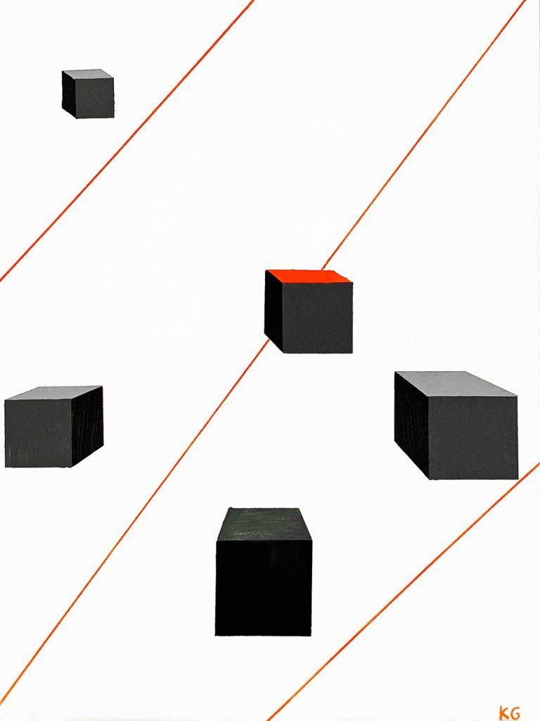Arte contemporáneo Valencia Karlo Grados España artista galería óleo abstracto Madrid7