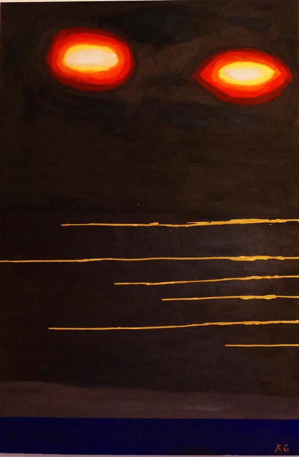 Arte contemporáneo Valencia Karlo Grados España artista galería óleo abstracto2