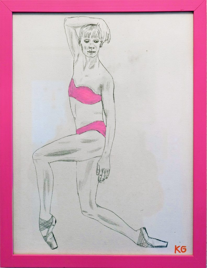 Arte contemporáneo Valencia Karlo Grados España artista galería óleo ballet 1 Alicia Amatriain Stuttgarter Ballett