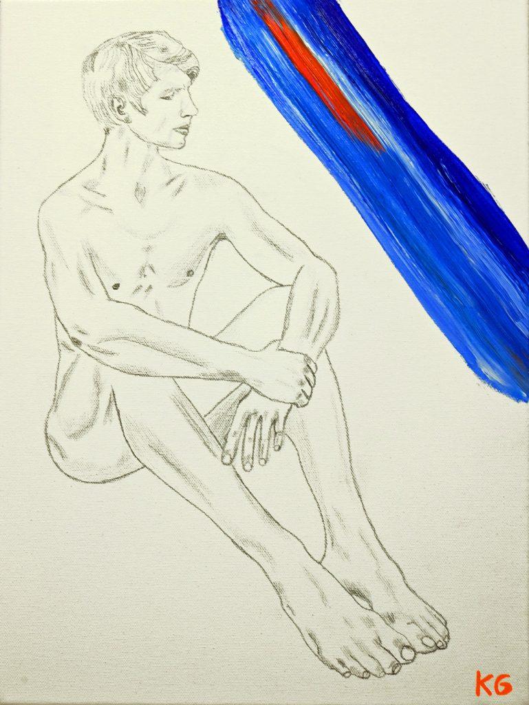Arte contemporáneo Valencia Karlo Grados España artista galería óleo ballet David Moore Stuttgarter Ballett