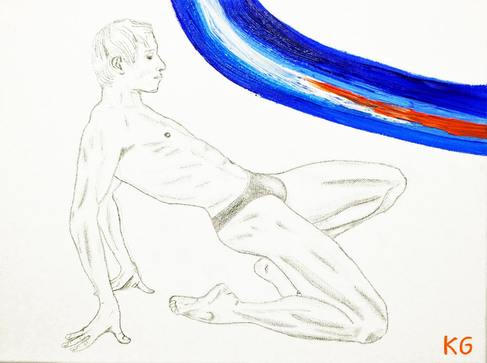 Arte contemporáneo Valencia Karlo Grados España artista galería óleo ballet Roman Novitzky
