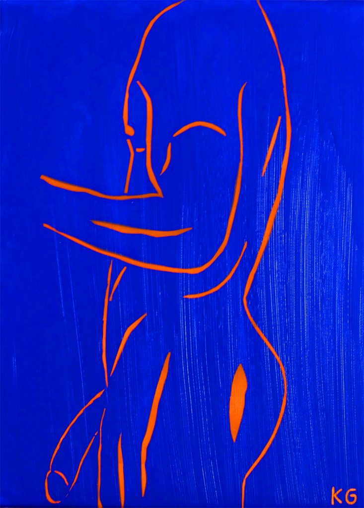 Arte contemporáneo Valencia Karlo Grados España artista galería óleo desnudo hombre sexy11