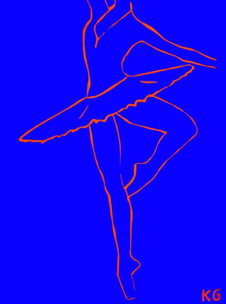 Arte contemporáneo Valencia Karlo Grados España artista galería óleo desnudo Ballett