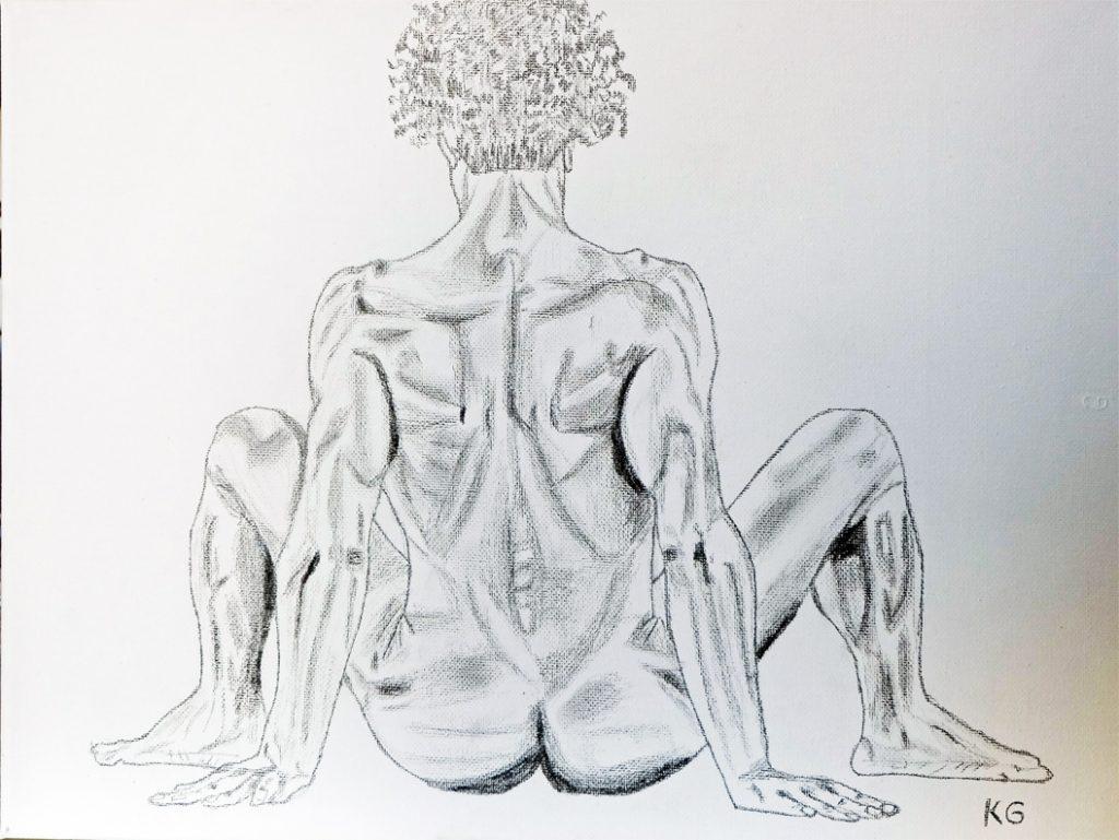 Arte contemporáneo Valencia Karlo Grados España artista galería óleo desnudo hombre sexy20