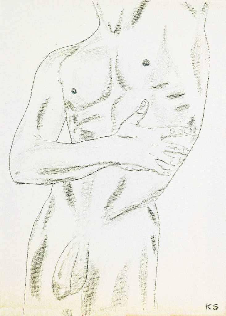 Arte contemporáneo Valencia Karlo Grados España artista galería óleo desnudo hombre sexy22